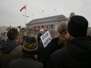 SOPA Protest, San Francisco (pixelhose.com)